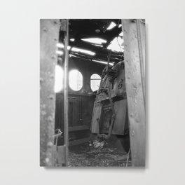 The Dead Locomotive Metal Print