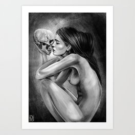 """Love You Till The End"" Art Print"