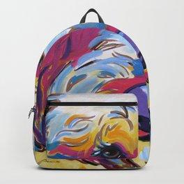 Sunshine the Goldendoodle Backpack