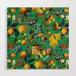 Fruit Pattern Wood Wall Art