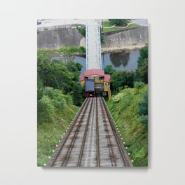 Johnstown Inclined plane Metal Print
