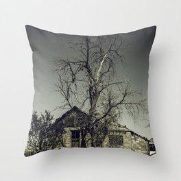Dead End Throw Pillow