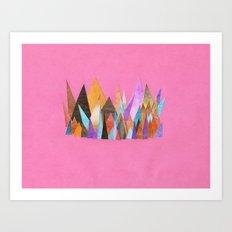 Landscape Sprouts 3 Art Print