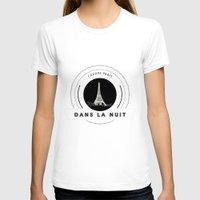 tiffany T-shirts featuring Paris tiffany blue by 16floor
