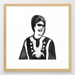 Portrait of Oum Kalsoum Framed Art Print