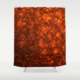 Molten Lava Shower Curtain