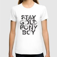 stay gold T-shirts featuring Stay Gold by Lucas Young