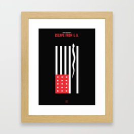 John Carpenter - Escape from L.A. Framed Art Print