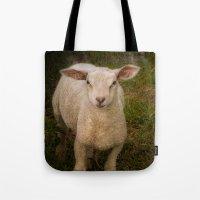 lamb Tote Bags featuring Lamb by Guna Andersone & Mario Raats - G&M Studi