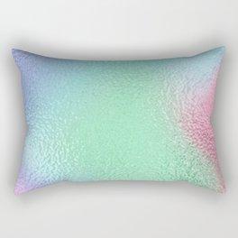 Simply Metallic in Holographic Rainbow Rectangular Pillow
