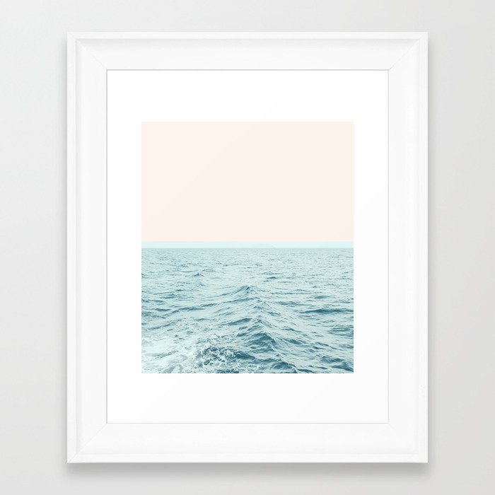 Sea Breeze #society6 #decor #style #tech Framed Art Print