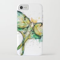 luna iPhone & iPod Cases featuring Luna by Abby Diamond