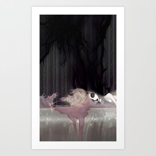 Shadowia Art Print