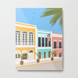 Old San Juan, Puerto Rico Metal Print