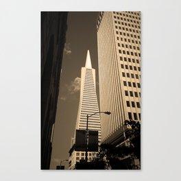 San Francisco - Transamerica Pyramid Building 2007 Canvas Print