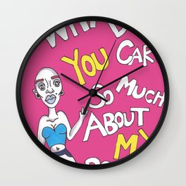 It's My Body Wall Clock