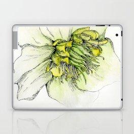 Watercolor Helleborus Laptop & iPad Skin