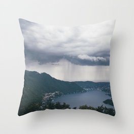 lake como, i Throw Pillow