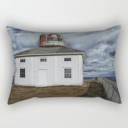 Lighthouse in Newfoundland, Canada Rectangular Pillow