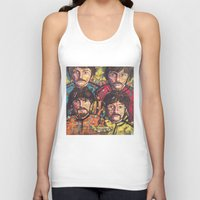 yellow submarine Tank Tops featuring Yellow Submarine by somanypossibilities