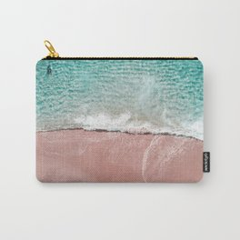 Pink Vacation Carry-All Pouch