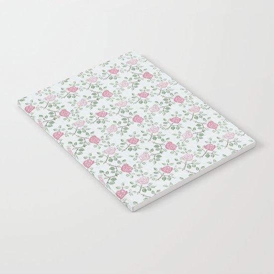 Rose Print Notebook