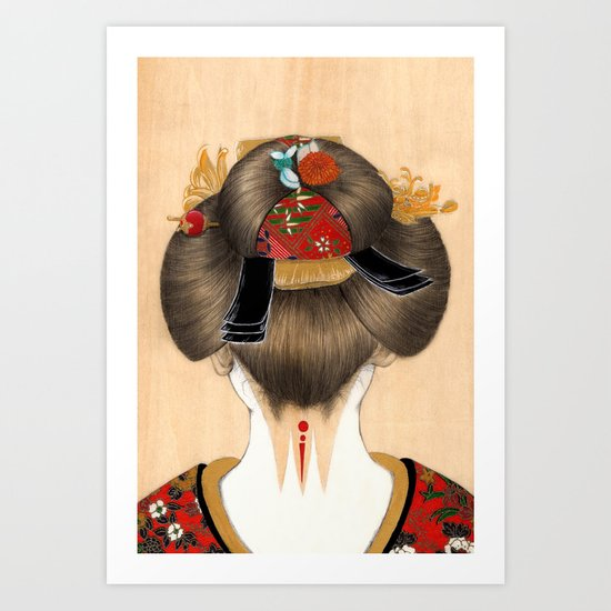 Turning Japanese IV Art Print