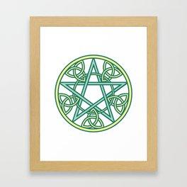 Celtic Pentacle Framed Art Print