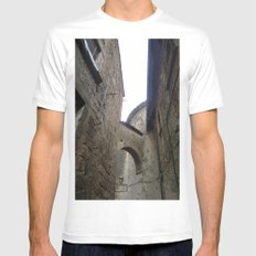 Orvieto Arches Mens Fitted Tee MEDIUM White