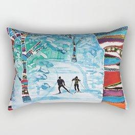 Forelsket ('Falling in Love' in Norwegian) Rectangular Pillow