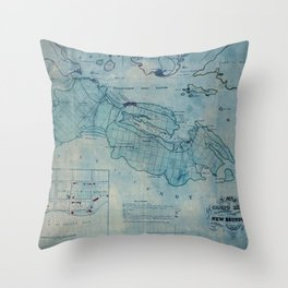 Campobello Island 1830 Throw Pillow