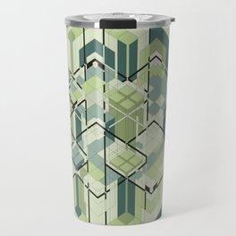 Hexagons #01 Travel Mug