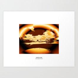 IN THE DESERT VII Art Print