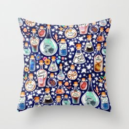 If Happiness Could Be Bottled  Throw Pillow
