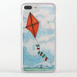 Go Fly a Kite Clear iPhone Case