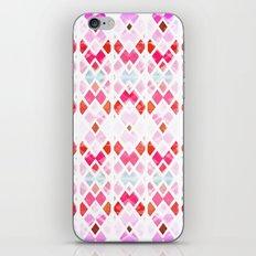 Diamond Geo Pinks & Blues iPhone & iPod Skin