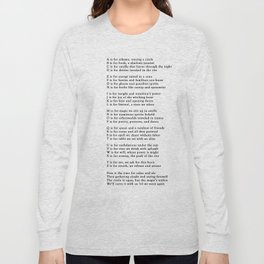 ABCs of Witchcraft Long Sleeve T-shirt