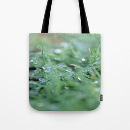 Morning Glitter Tote Bag
