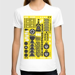 yellow picnic T-shirt