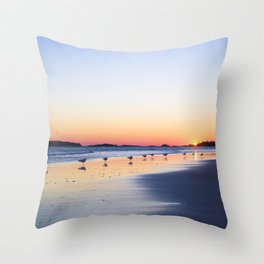 "All My ""Ducks"" In A Row Throw Pillow"