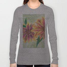 Funky Flowers Long Sleeve T-shirt