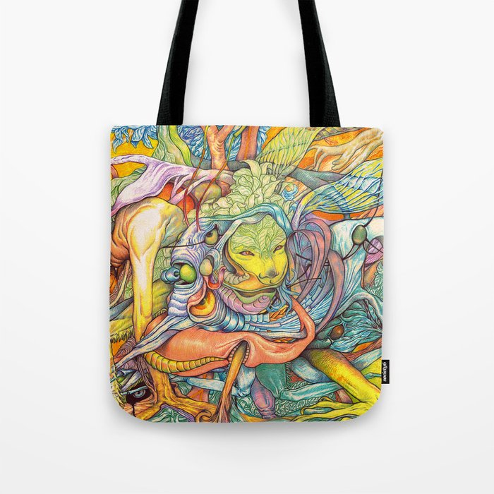 Compositions insect ( nightmare in summer ) Tote Bag
