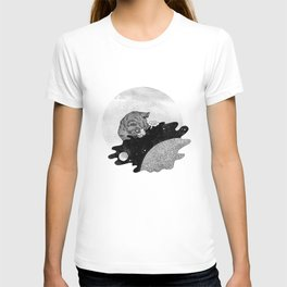 Space and the Cat T-shirt