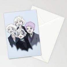 Gothic Girls Stationery Cards