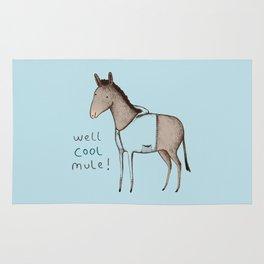 Well Cool Mule! Rug