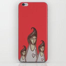 Love, Peace, YEAH! iPhone Skin