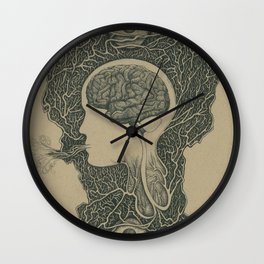 Mind and Spirit Wall Clock