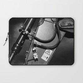 Arm of Power Industrial Hydraulic Digger System Laptop Sleeve