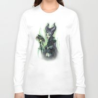 evil Long Sleeve T-shirts featuring EVIL by Tim Shumate