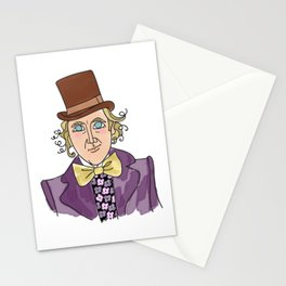 Sweet Gene - Willy Wonka Stationery Cards